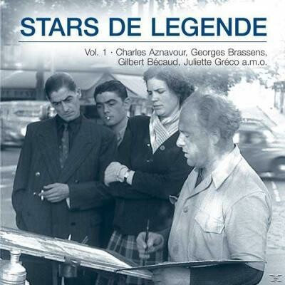 CD ''Stars de Légendes'' Volume 1