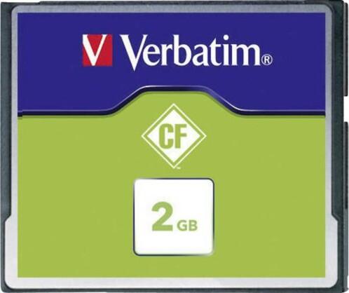 Carte Mémoire Compact Flash Verbatim - 2 Go