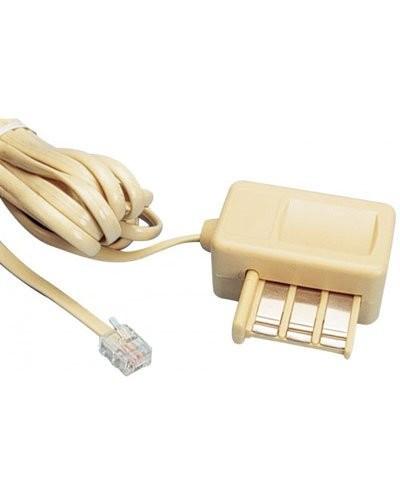 Câble téléphonique RJ11 Gigogne M/F - 3m