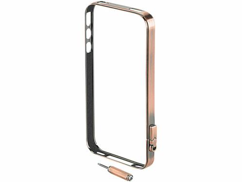 Cadre de protection pour iPhone 4 / 4S – bronze