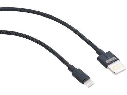 Câble USB 2.0 compatible Lightning, connexion double sens, 100 cm