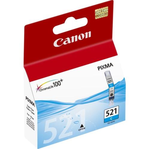 Cartouche originale Canon CLI521C - Cyan