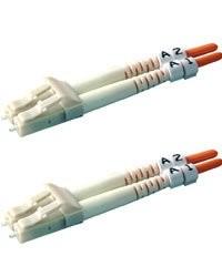 Cordons à fibre optique multimodes duplex LC/LC - 5 m