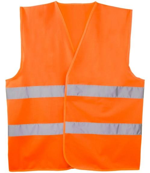 Gilet de sécurité orange