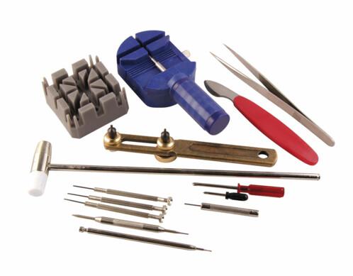 Kit complet d'outils d'horlogerie