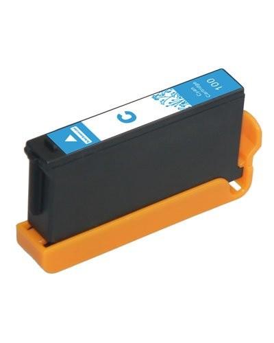 Cartouche compatible Lexmark L100C XL - Cyan