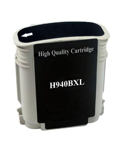 Cartouche remanufacturée HP N°940 XL C4906AE - Noir