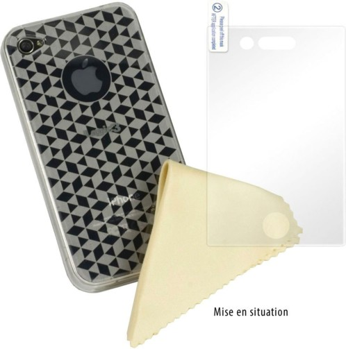 Coque de protection ''Deluxe'' pour iPhone 4