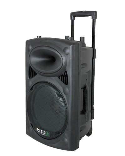 Sono portable + 2 micros Ibiza Sound PORT10 - 500 W