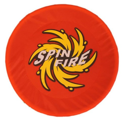 Disque volant souple Spin Fire