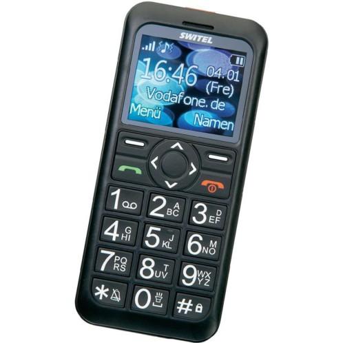 Téléphone portable seniors grosses touches : Switel M160