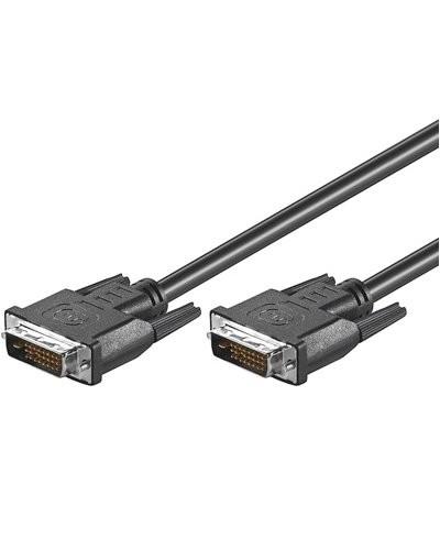 Câble DVI-D mâle / mâle - 2m