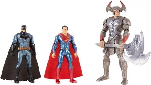 Coffret 3 figurines DC Justice League (2017)