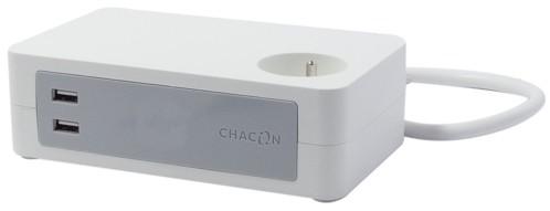 Bloc multiprise de bureau - 3 prise + 2 USB