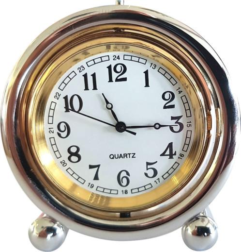 Petite horloge de table aspect Vintage avec écrin