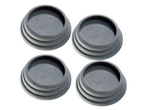 4 patins anti-vibrations