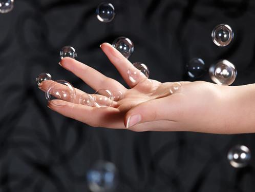 Fiole pour faire des bulles de savons super résistantes