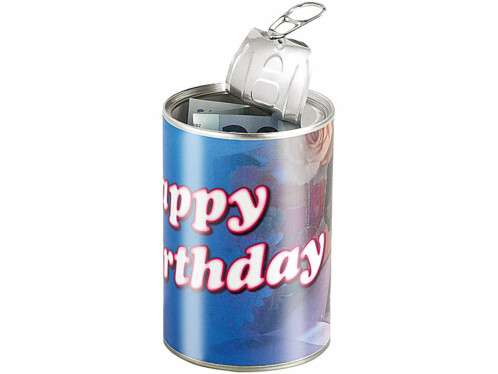 Canette cadeau ''Happy Birthday''