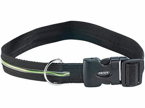 Collier de sécurité LED pour chien 'Neon Light'