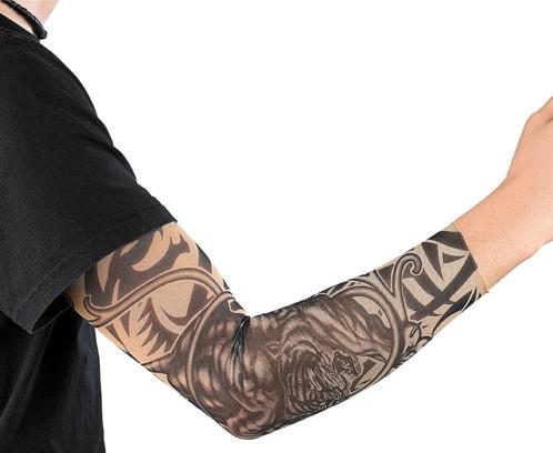 Manchette au look tatouages motif ''Wild Tribal''