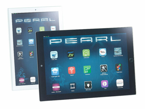 2 planches à découper en verre design tablette tactile