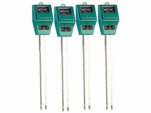 4 détecteurs d'humidité
