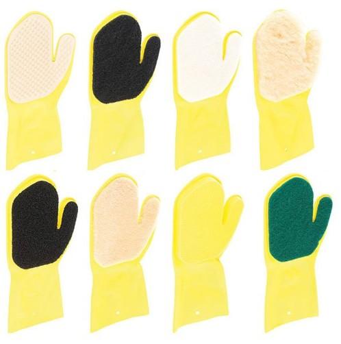 Assortiment de gants de nettoyage - pour main droite