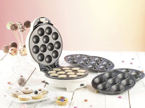 Appareil 3 en 1 pour donuts, cupcakes & cake pops