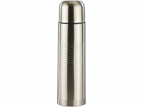 Bouteille isotherme en inox + gobelet - moyenne 0,5 L