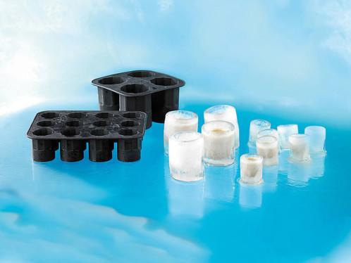 Moule silicone pour faire 4 verres en glace