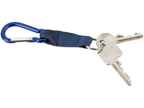 Porte-clés mousqueton
