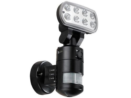 Caméra de surveillance qualité VGA avec projecteur LED