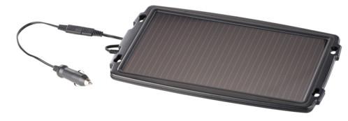 chargeur solaire pour tension batterie 12v 24v voiture en hiver ou stationnement prolongé