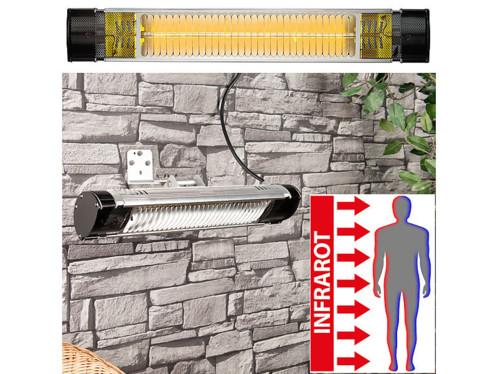 Chauffage radiant infrarouge d'extérieur IRW-2000