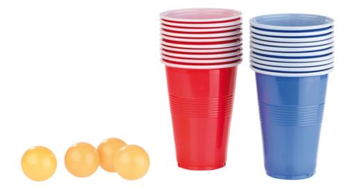 Jeu à boire à 5 balles et 60 gobelets