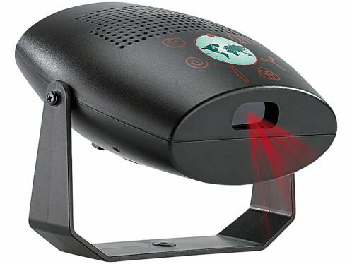 Laser disco mobile avec capteur de son