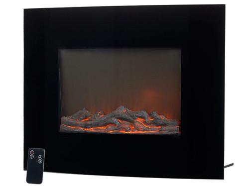 radiateur radiant soufflant avec effet feu de cheminée pour chauffage et decoration salon