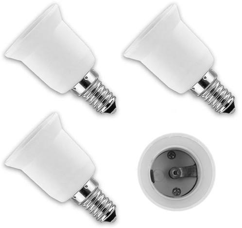 4 convertisseurs de douilles - Culot E14 vers ampoule E27