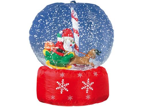 Boule à neige géante ''Père Noël''