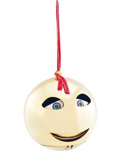 Boule de Noël chantante version jaune