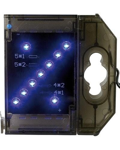 Caractère spécial lumineux à LED - '' % '' bleu