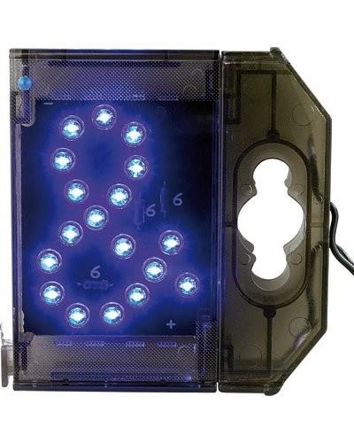 Caractère spécial lumineux à LED - '' & '' bleu