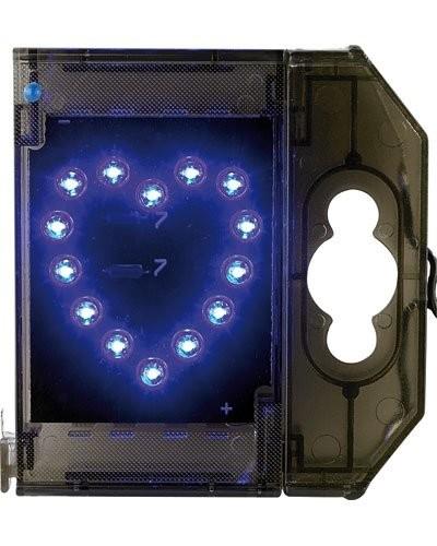 Caractère spécial lumineux à LED - '' Cœur '' bleu
