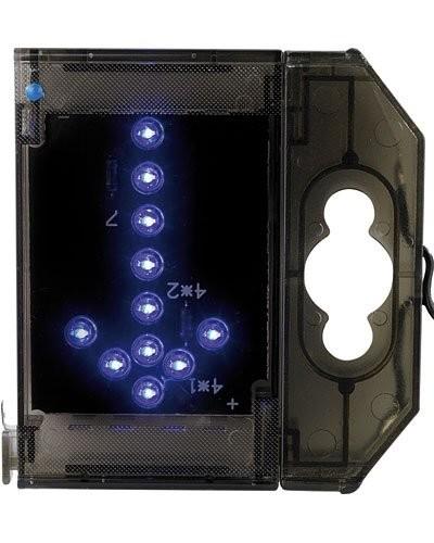 Caractère spécial lumineux à LED - ''Flèche bas'' - Bleu