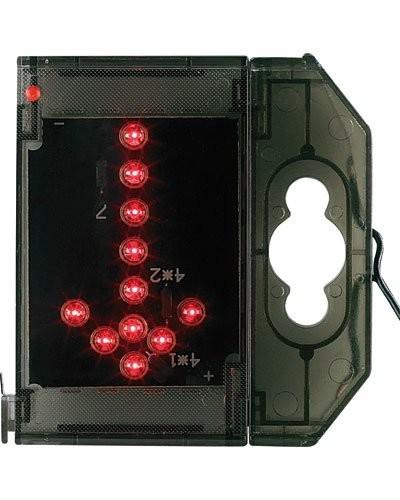 Caractère spécial lumineux à LED - '' Flèche bas '' rouge
