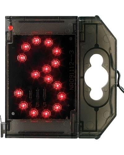 Chiffre lumineux à LED - ''3'' rouge