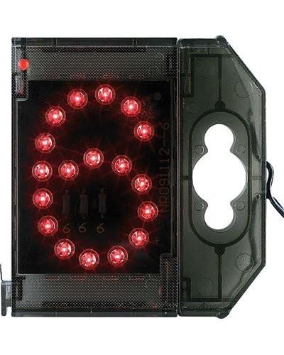 Chiffre lumineux à LED - ''6'' rouge