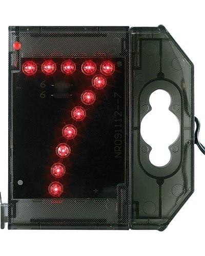 Chiffre lumineux à LED - ''7'' rouge