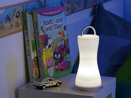 Lanterne et lampe de table à LED ''Mini-Livinglight''