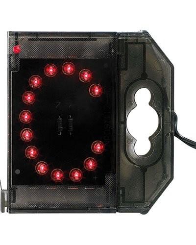 Lettre lumineuse à LED - ''C'' rouge